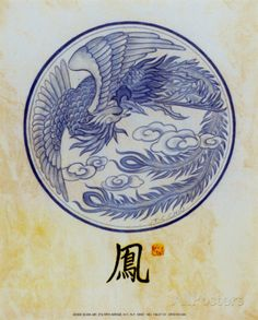 chinese phoenix line drawing google search tattoos