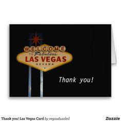 Thank you! Las Vegas Card