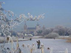 Sint Jan 's-Hertogenbosch in de sneeuw