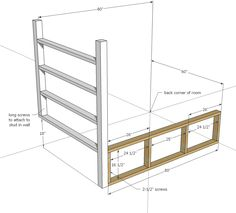 Ana White | Build a Tiny House Loft with Bedroom, Guest Bed, Storage and Shelving | Free and Easy DIY Project and Furniture Plans