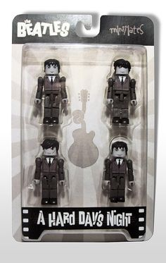 Old fashion Legos made into the Beatles....amazing.
