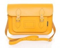 Zatchels Yellow Leather Satchel Bag - Yellow discovered on Fantasy Shopper Satchel Purse, Leather Satchel, Leather Purses, Satchel Handbags, Pop Shoes, Promotional Bags, Work Bags, Wholesale Bags, Best Bags
