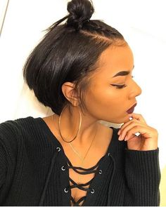 Short Hairstyles Black Hair Unique Pinterest Kekedanae20  Hair  Pinterest  Hair Style Short Hair