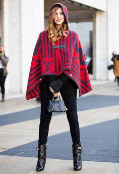 Be A Fashion Superhero With Capes For Fall