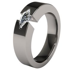 Chakra Titanium Engagment Ring