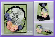 Mixed Bunch Workshop projects by SandiMac - Cards and Paper Crafts at Splitcoaststampers
