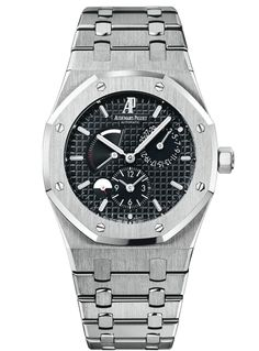 Royal Oak Dual Time, Watch Reference 26120ST.OO.1220ST.03