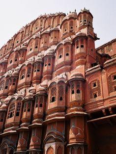 Hawa Mahal (or Palace of Winds), Jaipur, India
