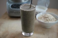 Oatmeal smoothie: Healthy Morning Breakfast Drinks to Help with Weight Loss