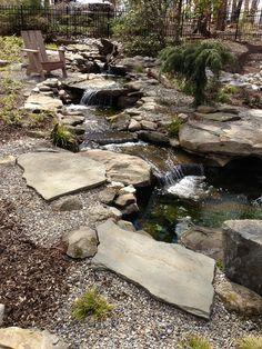 natural Waterfalls and streams