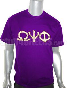 56d146abc1b Omega Psi Phi Bones T-Shirt