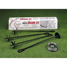 The Arrow Shed Corkscrew Anchor Kit is a smart and easy way to protect your structure from heavy winds. This handy corkscrew anchor kit includes four. Wood Storage Sheds, Garden Storage Shed, Outdoor Storage Sheds, Wooden Sheds, Storage Shed Plans, Diy Shed, Built In Storage, Wood Shed Plans, Shed Building Plans