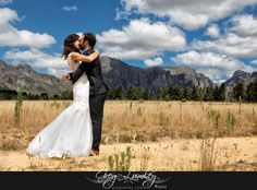 Willem and Kari's wedding at Ashanti estate in Paarl - Greg Lumley - Wedding Photographer Cape Town South Africa, Professional Photographer, One Shoulder Wedding Dress, Backdrops, Wedding Venues, Wedding Photography, In This Moment, Mountains, Wedding Dresses