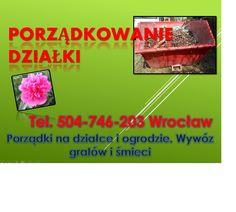 Przekopanie działki, cena tel 504-746-203. Kopanie ogrodu, usługi glebogryzarką. Cennik