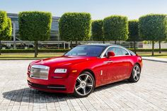 #Rolls#Royce #Wraith in red