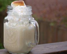 The toasted marshmallow milkshake (with alcohol!)