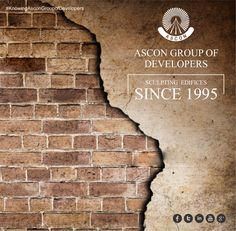 Introducing ASCON GROUP OF DEVELOPERS who has been Sculpting Edifices since 1995. More than 2 decades and the saga continue.  ‪#AsconRealty‬ ‪#Ascon‬ ‪#RealEstate‬