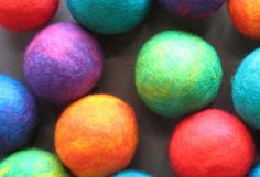 To make the ornaments shown in Quilting Arts Gifts , you need to make felted wool balls or you can buy pre-felted balls from the Artgirlz ...