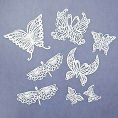 Butterflies & Dragonflies Silicone Lace Mat by Chef Alan Tetreault Silicone Lace Mats by Chef Alan Tetreault
