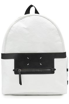 MAISON MARTIN MARGIELA Maison Margiela Backpack with Leather. #maisonmartinmargiela #bags #leather #backpacks #