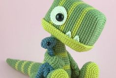 Super cute amigurumi crochet plushie toy for all. Baby Tyrannosaurus with Teddy Super cute amigurumi crochet plushie toy for all. Baby Tyrannosaurus with Teddy Crochet Dinosaur, Crochet Monsters, Dinosaur Pattern, Crochet Bear, Cute Crochet, Crochet Animals, Crochet Dolls, Crochet Teddy Bear Pattern, Crochet Baby Toys