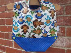 Baby Feeding Bib Snap-pocket baby bib by RagamuffinsandCo on Etsy Baby Feeding, Baby Bibs, Lunch Box, Pocket, Future, Cotton, Kids, Etsy, Women