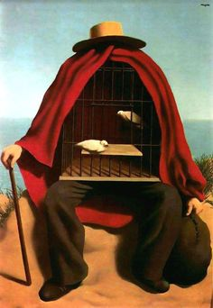 Magritte try to understand the future