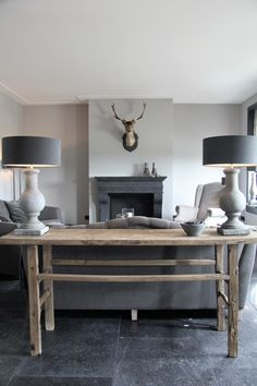 landelijk interieur Home Living Room, Living Spaces, Sober Living, Interior Concept, Home And Deco, Elegant Homes, Interior Design Inspiration, Home Furniture, Interior Decorating