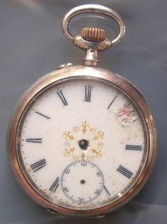 antique l.u.c. chopard pocket watch