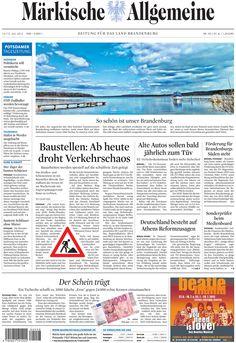 Samstag, 14. Juli 2012 - Wo man in Berlin und Brandenburg auch hinguckt, überall wird gebaut » http://www.maerkischeallgemeine.de/cms/beitrag/10381929/1755241