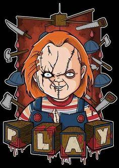 Scary Wallpaper, Halloween Wallpaper Iphone, Halloween Backgrounds, Chucky Horror Movie, Horror Movie Characters, Horror Movies, Horror Cartoon, Horror Icons, Cartoon Art