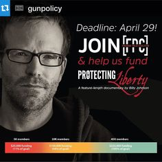 """""""Don't post a lot but when we do, try to make it count for good cause or information. Please take some time to check out @GunPolicy. I know there are Good Folks doing Good Work there for our Industry and our Community. """"  Join @gunpolicy at JoinFPC.org and help us fund #ProtectingLiberty #gunrights docu film Billy Johnson of @AmidstTheNoise! #2A #CCW #gunpolicy #igmilitia #firearmspolicycoalition #guns #pewpew #NRA""""  #igmilitia #igblades #igpistols #igrifles #igshotguns #igholsters…"""