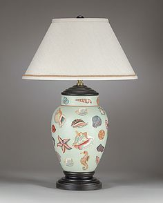 Tropical, Coastal, Beach House & Nautical Lamps and Lighting