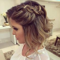 Prom Hairstyles for Short Hair 2017
