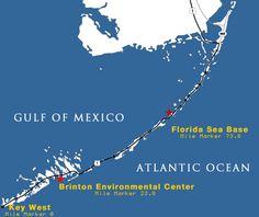 Florida Sea Base Map