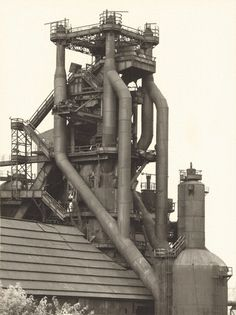 Bernd and Hilla Becher, Blast Furnace, Cleveland, Ohio, USA, 1980