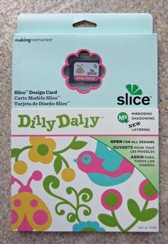 Making Memories Slice Dilly Dally Design Card  #MakingMemories