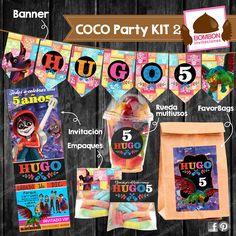 ¿Listos para la Fiesta con tema #COCOpixar? ¡Listos con los productos de #InvitacionesBOMBON! Ordena solo invitaciones o un paquete completo. <3 #Coco #Pixar #Disney #Invitation #invitación #ticket #stickers #props #favorbag #waterlabel #banner #cupcake #toppers #printable #partykit #party