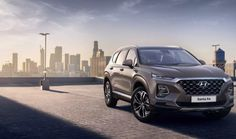 The new Hyundai Santa Fe is officially revealed in the first photos of the 2018 Santa Fe from Hyundai, showing an SUV with a bold new look and new technology. Kia Sorento, Toyota Corolla, Fille Indie, New Hyundai Santa Fe, New Santa Fe, Luxury Crossovers, Hyundai Genesis, Geneva Motor Show, Exotic Cars