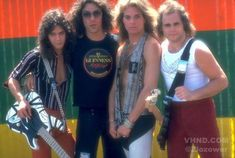 """0172025ae35 Day in Van Halen at Oakland s """"Day on the Green"""" Festival"""