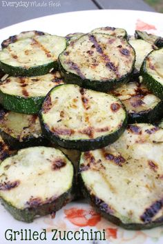 Grilled Zucchini Recipe on Yummly. @yummly #recipe