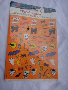 Vintage American Greetings Halloween Stickers by ShoppingLounge
