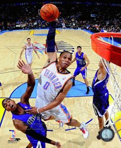 b033694fb695 Russell Westbrook 2010-11 Action Photo Basketball Is Life