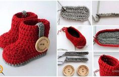 Baby Boat Making Narrated – Crochet Baby Boat Making – Gift For Men Baby Booties Knitting Pattern, Crochet Baby Shoes, Crochet Baby Booties, Crochet Slippers, Baby Knitting, The Babys, Girls Knitted Dress, Crochet Converse, Crochet Bebe