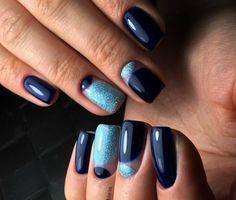 Top 80 Winter Gel polish nails 2018