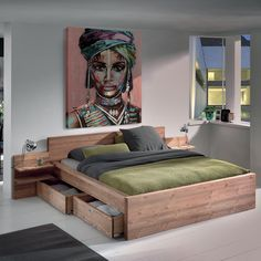 HELSINKI 2 seater bed the Nordic inspired design Wood Bed Design, Bed Frame Design, Bedroom Bed Design, Bedroom Furniture Design, Home Room Design, Bed Furniture, Bedroom Decor, Bedroom Layouts, Bedroom Styles