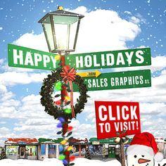 Happy Holidays from Sales Graphics - Click to View!