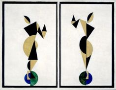 Theo van Doesburg, Dancers (1916)  Kröller-Müller Museum #collectievissen #dance