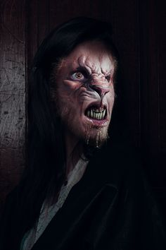Cursed morph manip by wolflogo on deviantART Skin Walker, Creepy, Scary, Gothic Images, Howl At The Moon, Half Man, Dark Gothic, Out Of This World, Halloween Art