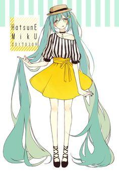 Vocaloid Hatsune Miku ideas for art Vocaloid, Character Inspiration, Character Art, Character Design, Manga Girl, Anime Art Girl, Anime Girls, Arte Grunge, Mikuo